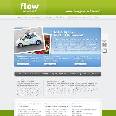 flow website