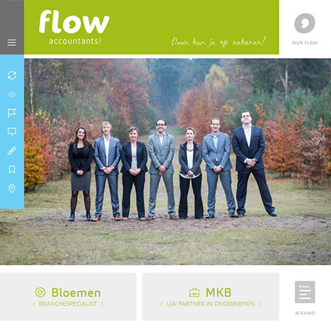 Flow Accountants Website